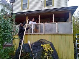 Residents on King Street in the North End have made improvements to the house at 999 King Street over the years.