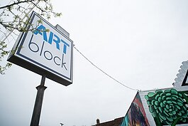 ArtBlock serves as an arts-centric community center for the neighborhood.
