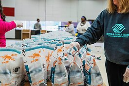 So far, BGCSM employees have distributed more than 1,300 meals to families in need across Southeast Michigan.