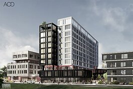 The Brush Watson development's now 310 units will contain 163 affordable housing units.
