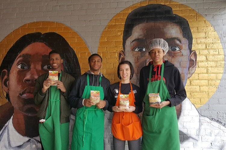 City Kids Soup is a local business launched by the nonprofit Central Detroit Christian.