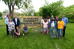 Kresge Foundation KiPD Grant recipient Community Treehouse Center will create an inclusive community space in Jefferson-Chalmers that can accommodate multigenerational users and those with disabilities.