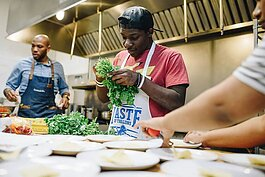 Detroit Food Academy teaches the culinary arts to Detroit youth ranging in ages from 10 to 24 years old, using cooking as a means of economic mobility and health and wellness education.