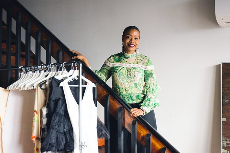 As a student at Cass Technical High School, Tracy Reese took advantage of the school's fashion program and compiled a portfolio so impressive she was awarded a full scholarship to Parsons School of Design in New York.