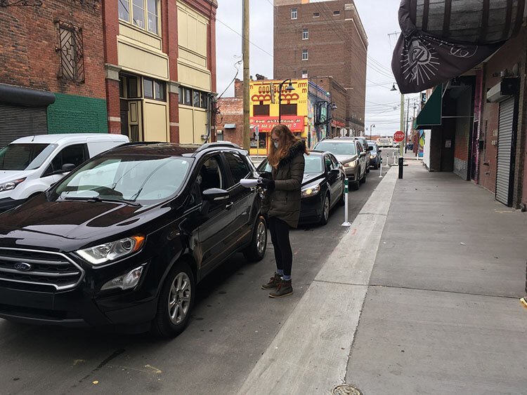 Eastern Market Partnership launched a bulk pickup drive-through market on Tuesdays.