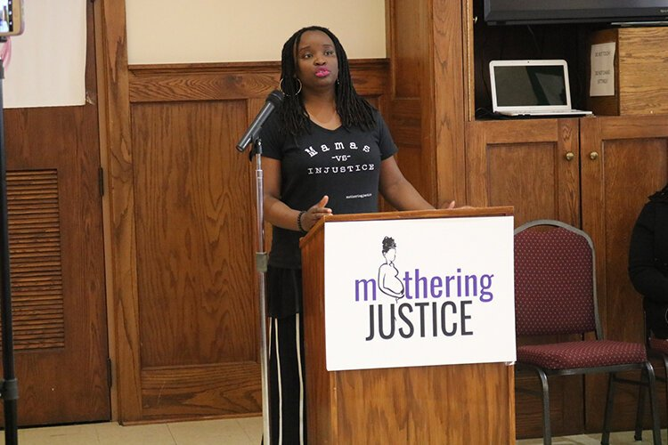 While Eboni Taylor, Mothering Justice's deputy director, feels the demands of the pandemic are difficult to ignore, she also believes people need to pay attention to the inequities it highlights and think about what comes after the crisis.