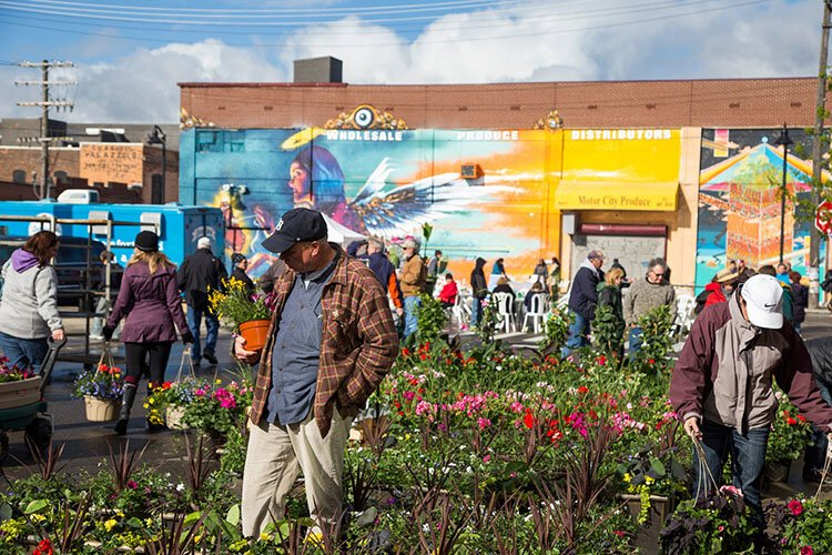 This year's Flower Day was canceled. Instead, Eastern Market Partnership is holding 2020 Flower Season and launching an online ordering portal.
