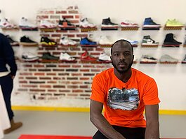 Frederick Paul started his sneaker exchange business when he was a college student at Western Michigan University.