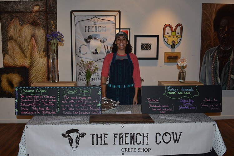 The French Cow is a French-inspired crepe pop-up.