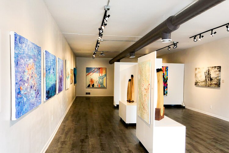 Asia Hamilton opened Norwest Gallery because she wanted to create a space where everyone could enjoy high-end, fabulous art.