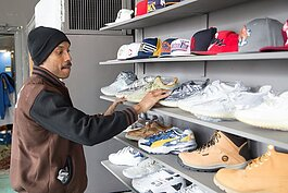 Jason Johnson carefully selects what he stocks in Midtown's Bob's Classic Kicks.