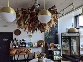Corktown restaurant Folk is adapting to COVID-19 by offering locally sourced groceries.