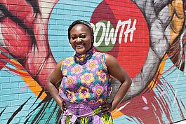 Nawal Denard, House of African Prints, Detroit