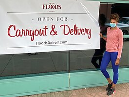 Flood's Bar & Grille reopens Thursday, May 28 for carryout and delivery.