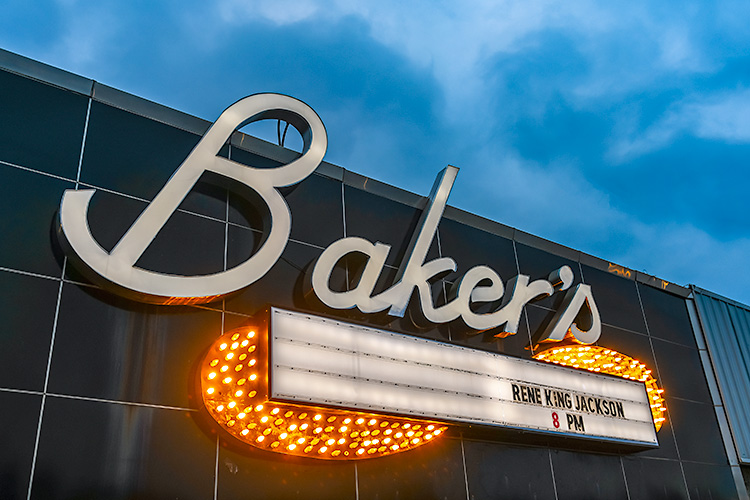 Baker's has been a staple of Detroit's jazz scene since the 1930s.