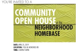 HomeBase open house invitation