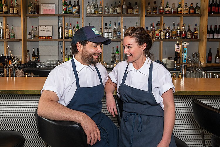 Justin Tootla and Jennifer Jackson were co-executive chefs at Voyager in Ferndale before striking out on their own to open Bunny Bunny in Eastern Market.