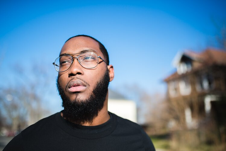 Resident Daniel Washington has embraced Northwest Goldberg as the neighborhood's name, naming his nonprofit after it and emblazoning NW Goldberg on the side of the truck for Detroit Dough.