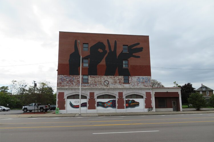 The Love Building at 4741 Grand River Ave. in Core City