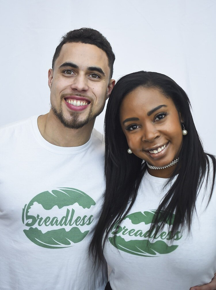 Marc Howland and LaTresha Staten are two of the co-founders of Breadless, a quick-service sandwich concept that will be opening next year on the east side of Detroit.