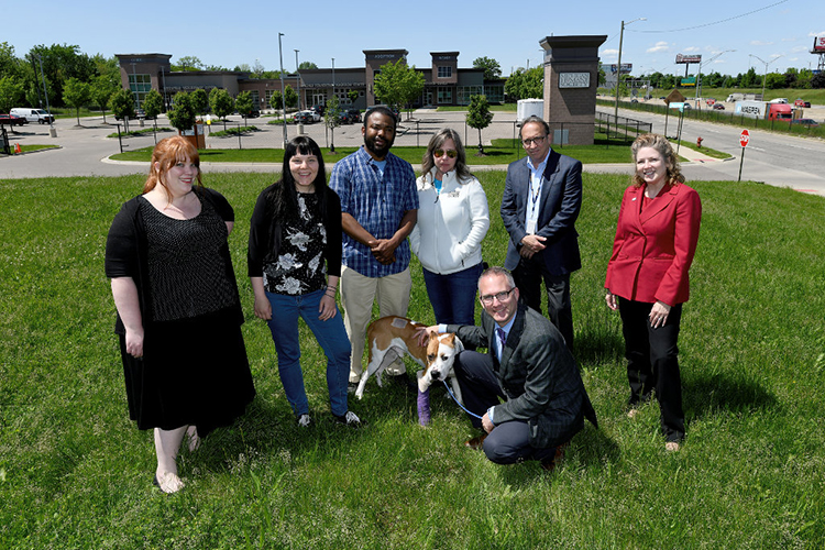 Kresge Foundation KiPD Grant recipients: Michigan Humane Society. •	Michigan Humane Society will conduct extensive community engagement in Detroit's North End to design and develop a pet-friendly park for neighborhood residents.