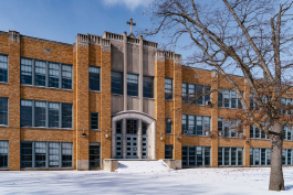 The former Immaculata High School, closed in 1984, will be renovated to house the new high school in Fall 2020.
