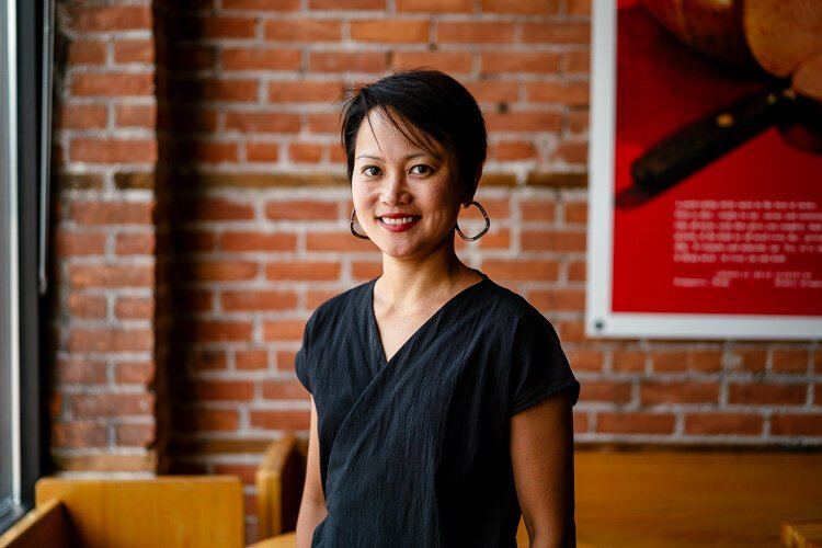 Ping Ho's extensive knowledge of wine made her the top choice to become Folk's beverage director.