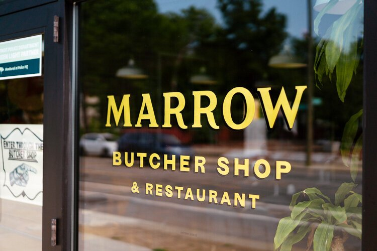 Marrow in West Village is owned by Ping Ho and executive chef Sarah Welch.