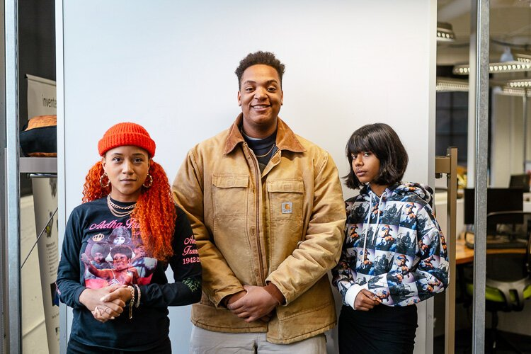 Charity, Kaleb, and MYNA are a part of the inaugural cohort of the Motown Musician Accelerator. Asante (not pictured) is also a part of the cohort.