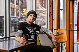 Steven Reaume likes to start his day at Urban Bean Co. in downtown Detroit.