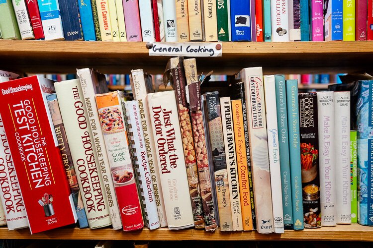 Amy Haimerl's go-to section at John King is the cookbook section.