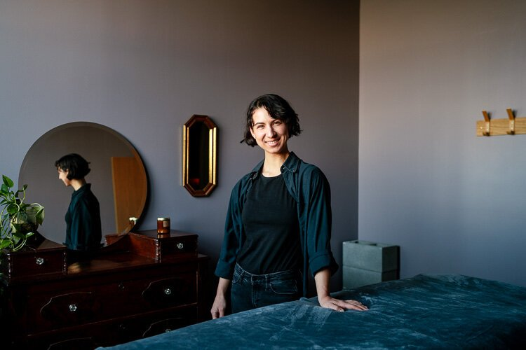 One of the market's newest tenants is Fauna Holistic, a massage spa that opened a third-floor studio this past summer. In searching for a home for her massage parlor, owner Fiona Maier says she knew that she wanted to open in Eastern Market.