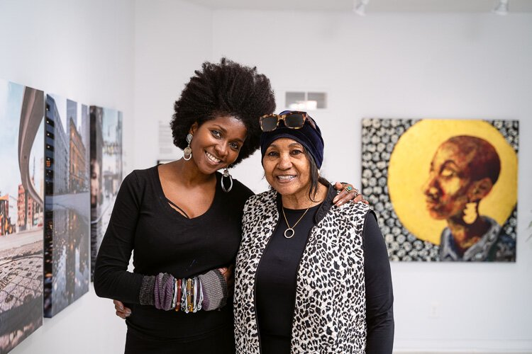 Omo Misha and her aunt Valerie Irwin opened the Irwin House Global Art Center and Gallery.
