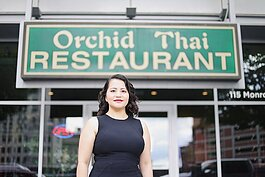 Ally Vang, owner of Orchid Thai in downtown Detroit