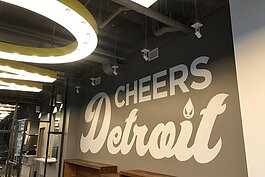 Saucy Brew Works' Detroit location opens in March.