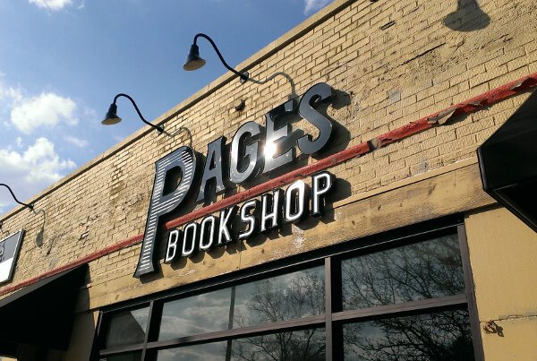 Pages Bookshop is located on Grand River Ave. in Northwest Detroit.