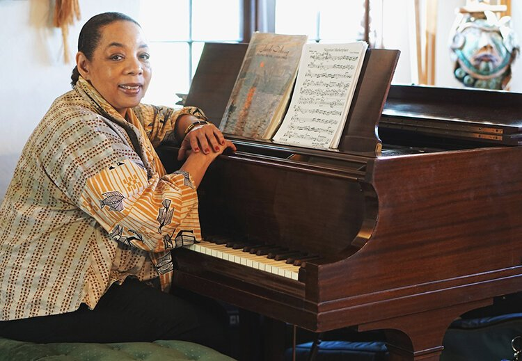 Pianist and composer Pamela Wise is using art to facilitate conversation on gentrification in Detroit at a concert on Saturday, Nov. 16.