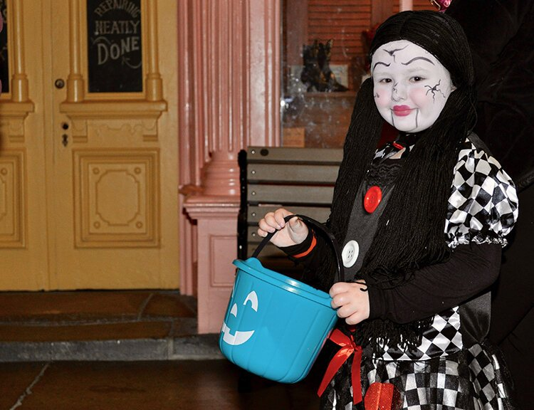 Take the kids trick-or-treating on Oct. 27 at the Detroit Historical Museum.