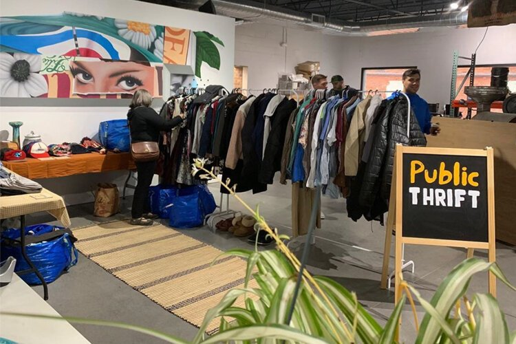 The Public Thrift pop-up will be open Thursdays through Sundays from Jan. 24 through March 31 at The Corner in Corktown.