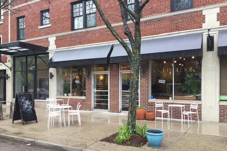 The Red Hook is a coffee shop and bakery in Detroit's West Village.