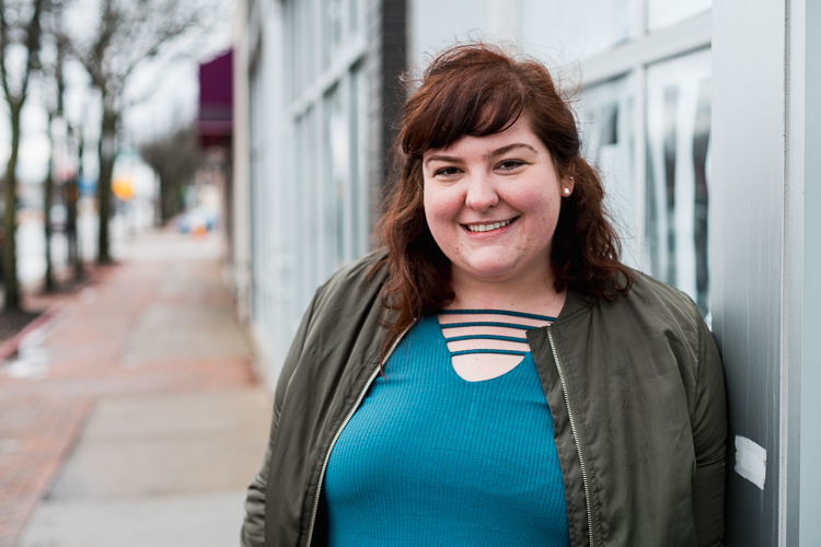 Caitlin Murphy is coordinator of Reimagining the Civic Commons, which is helping to support a larger endeavor in the neighborhood called the Fitzgerald Revitalization Project.