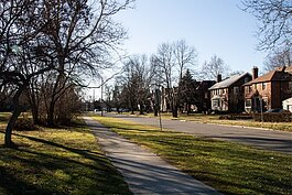 With its brick homes and park, Russell Woods has been piquing Realtors' and buyers' interest.