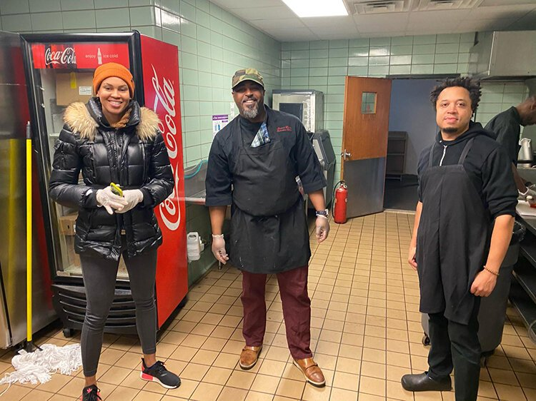 The Too Many Cooks culinary collaborative are cooking meals for the homeless in Detroit.