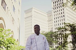 Chef Omar Mitchell has faced several setbacks this year with his fine dining restaurant Table No. 2.