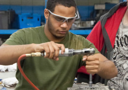 Macomb Community College is building talent for the mobility workforce with a variety of degrees and certificates.
