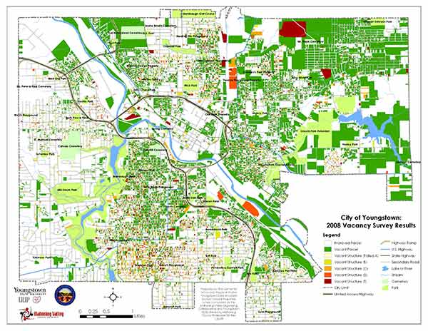Shrinking right: How Youngstown, Ohio, is miles ahead of ...