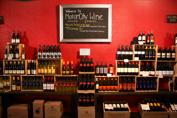Liquid assets motor city wine brings taste and value to for Motor city detroit mi