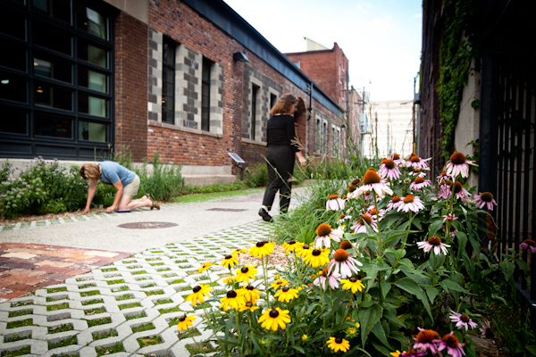 Green space transforms urban community