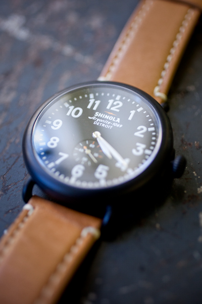 Shinola time piece