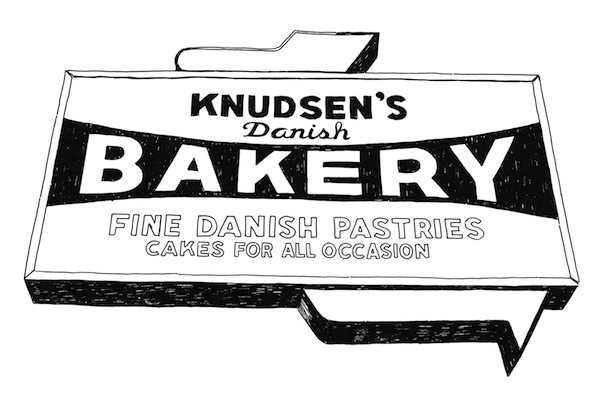 Knudsen's: far west side represents